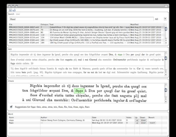 A digitization wiki using Scala and Eclipse 4