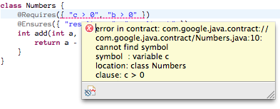 Setting up Contracts for Java in Eclipse | Geschreibsel