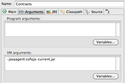 Setting up Contracts for Java in Eclipse   Geschreibsel